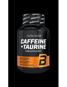 Cafeina & Taurina 60 Caps