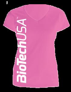 Biotech USA T-Shirt Rosa