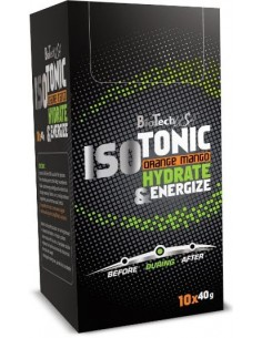 Isotonic 10x40g